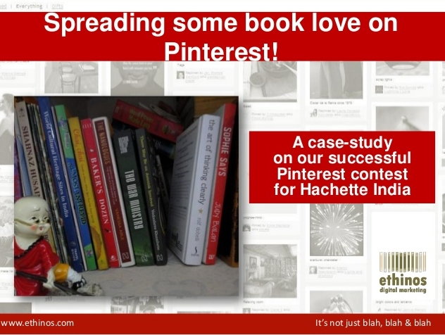 Hachette India Pinterest Contest Case Study