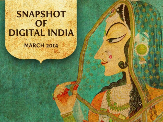 Snapshot of Digital India – March 2014
