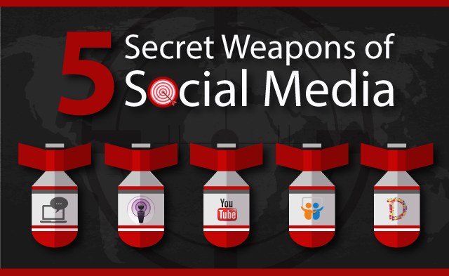 5 secret weapons of Social Media