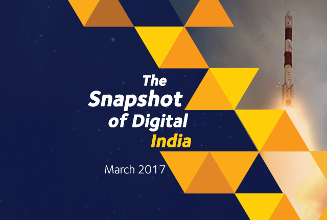 Snapshot Of Digital India-March 2017