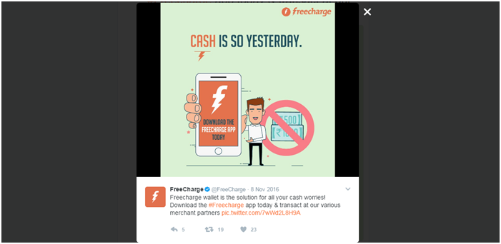 Real time marketing-FreeCharge