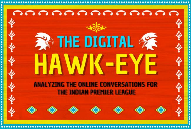 Indian Premier League online conversations stats