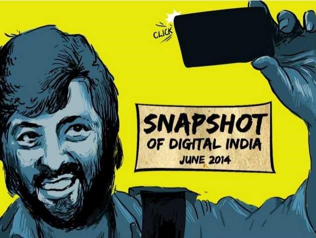 Snapshot of digital India