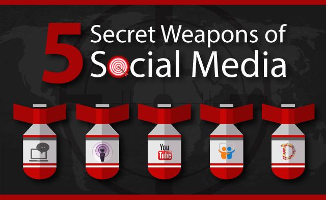5 secret weapons of Social Media