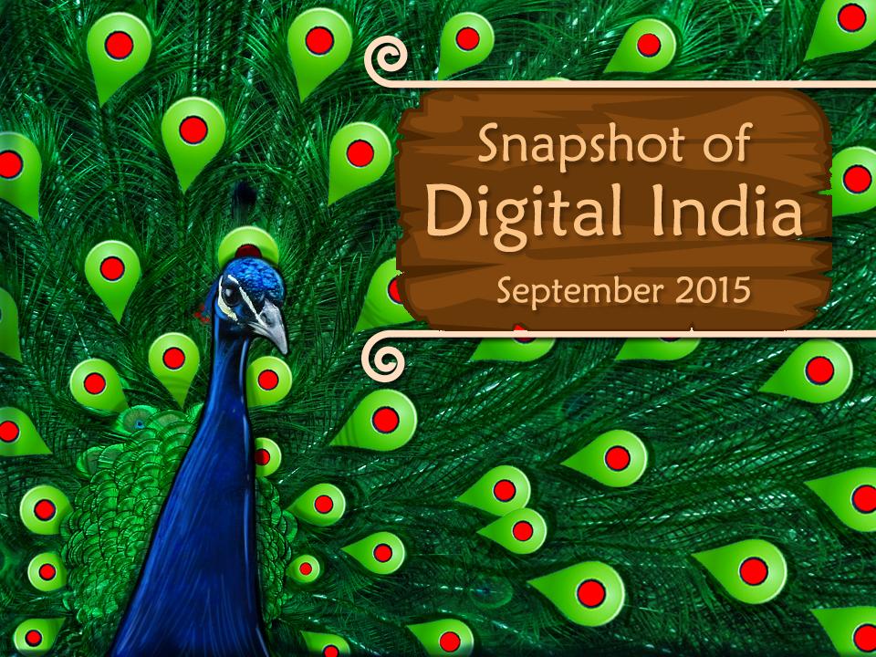 Snapshot of Digital India - 2015- Ethinos