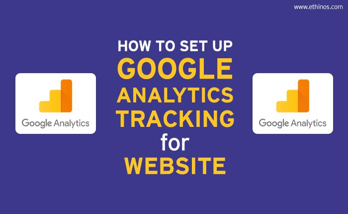 Google Analytics Tracking for Website
